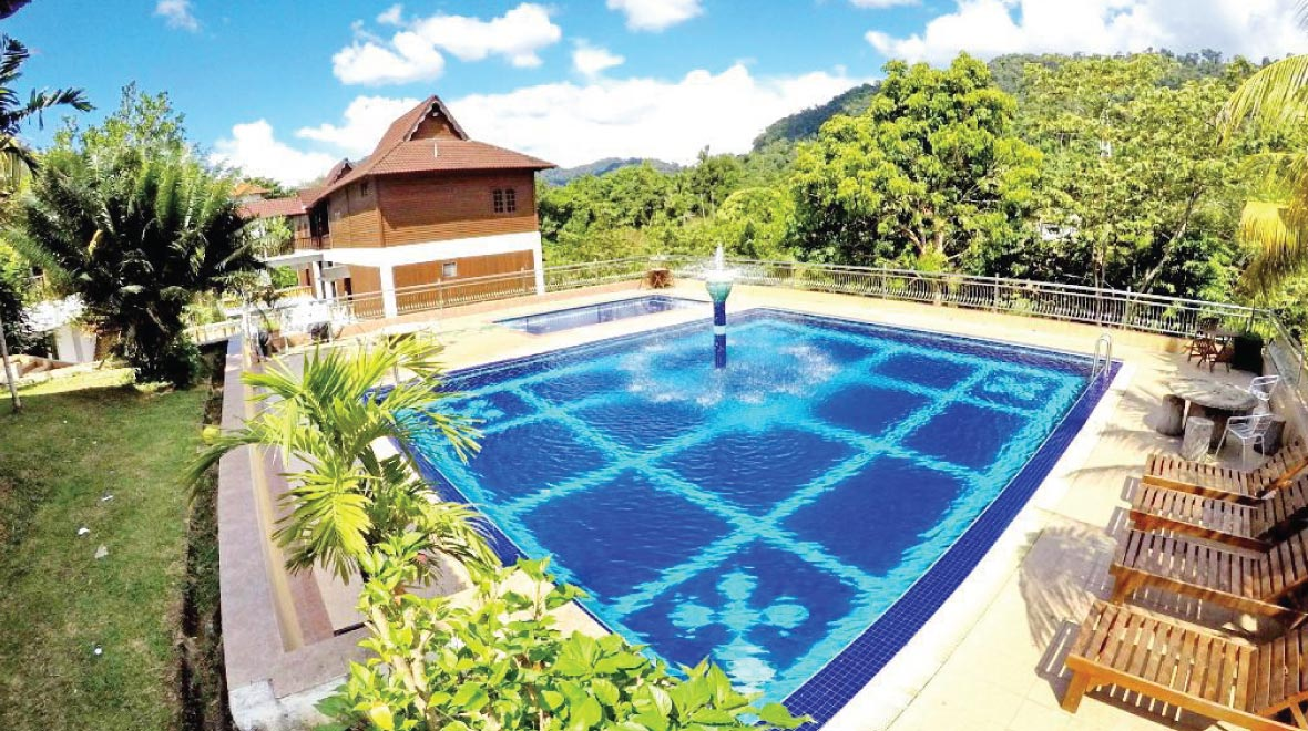Xcape Resort Pool