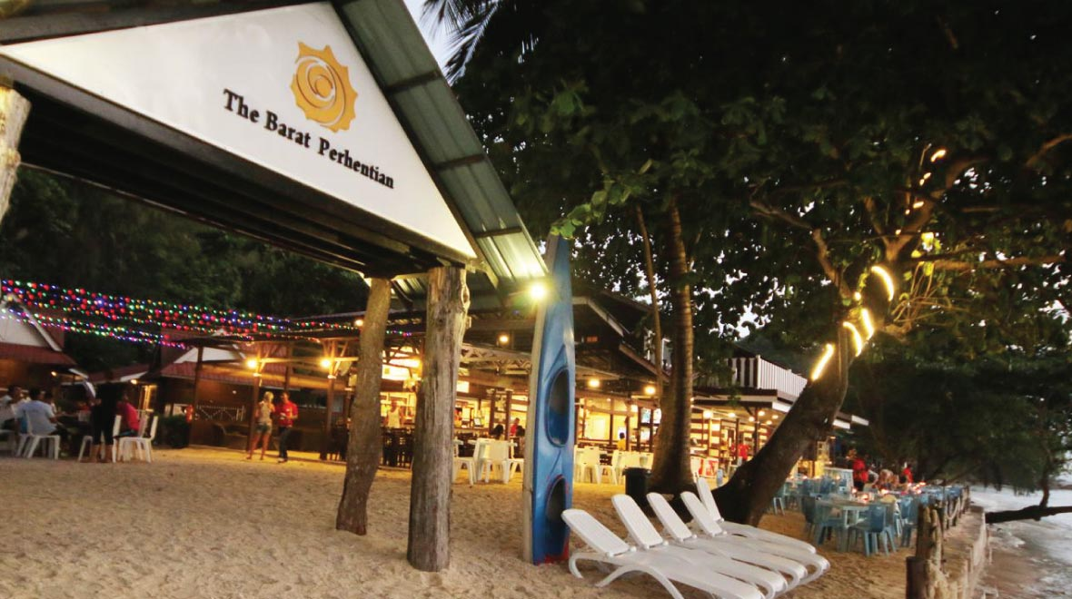 The Barat Perhentian Resort Beach Front