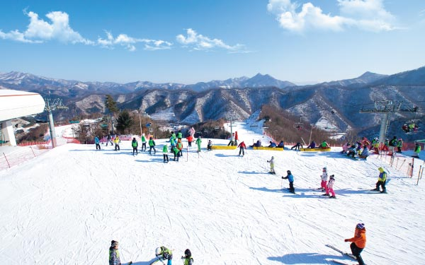 Dazzling Winter Fun In Korea