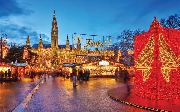 Delightful Danube Christmas - Westbound (Crystal Cruise)*