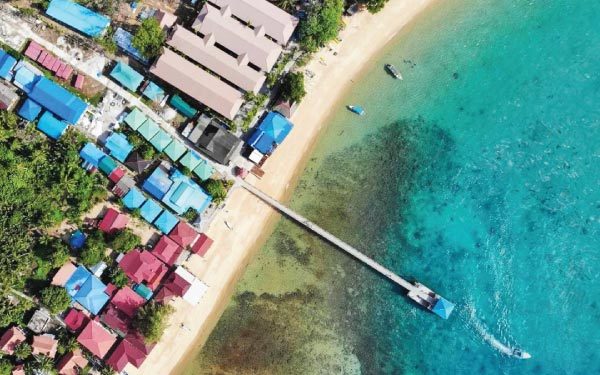 Tioman Island Diving Package @ Aman Tioman Beach Resort