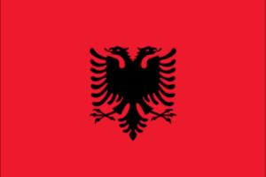 Albania sitt flagg