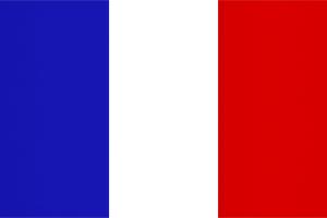 Frankrike sitt flagg