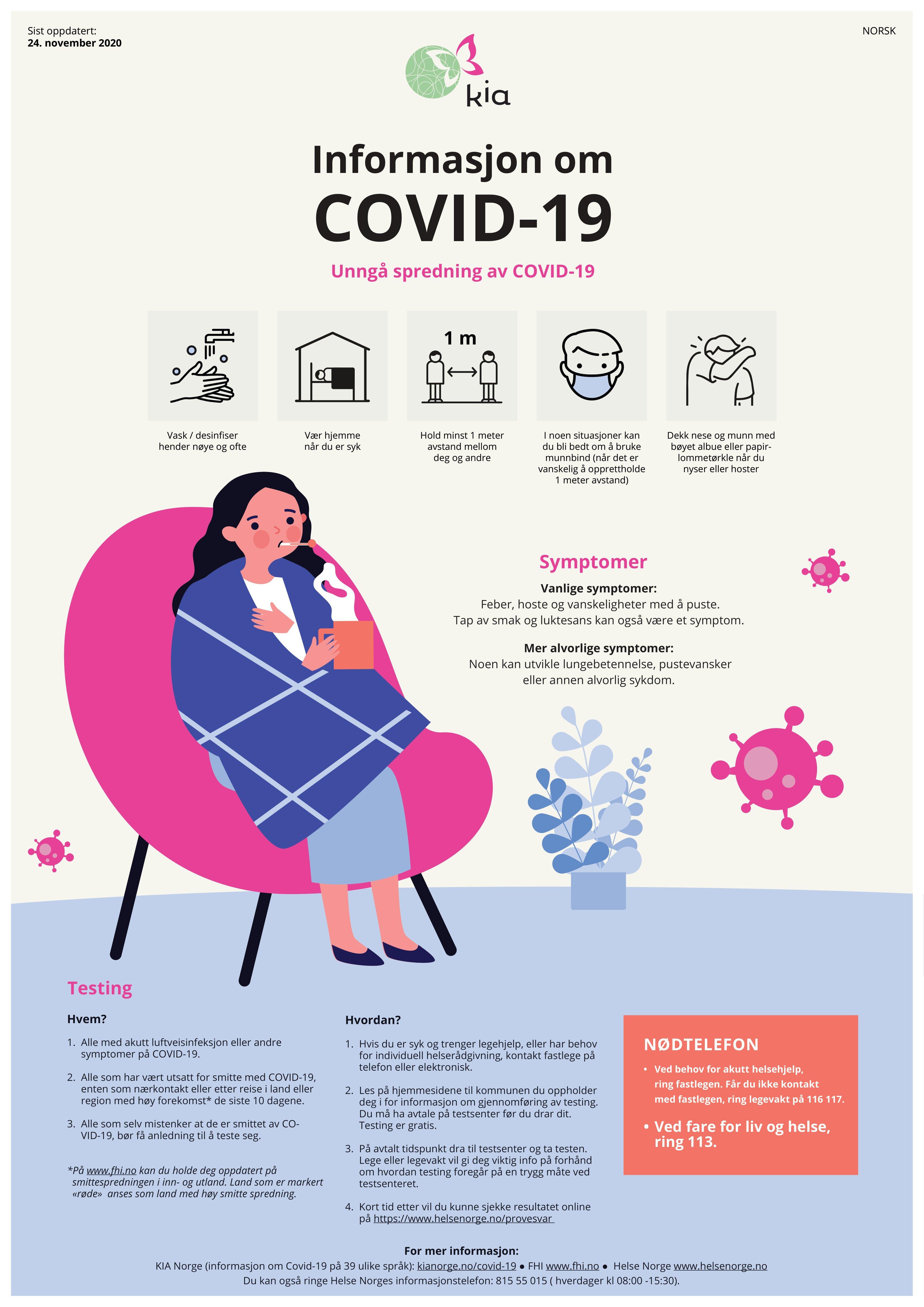 Covid 19 plakat - Covid 19 poster