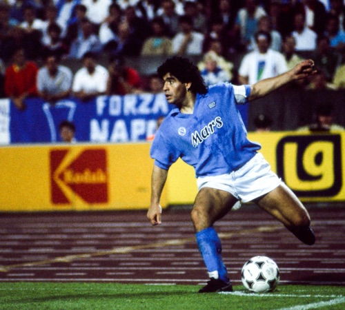 Champions Journal Talking Maradona