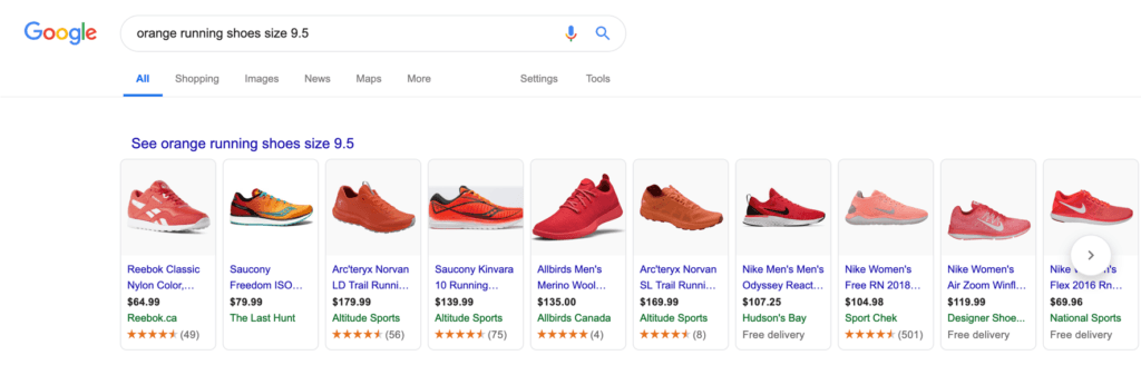 Orange running shoes google search