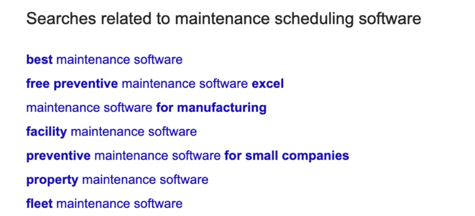 Searches related to maintenance scheduling software