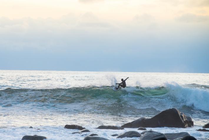 – Surfing i Lofoten har eksplodert