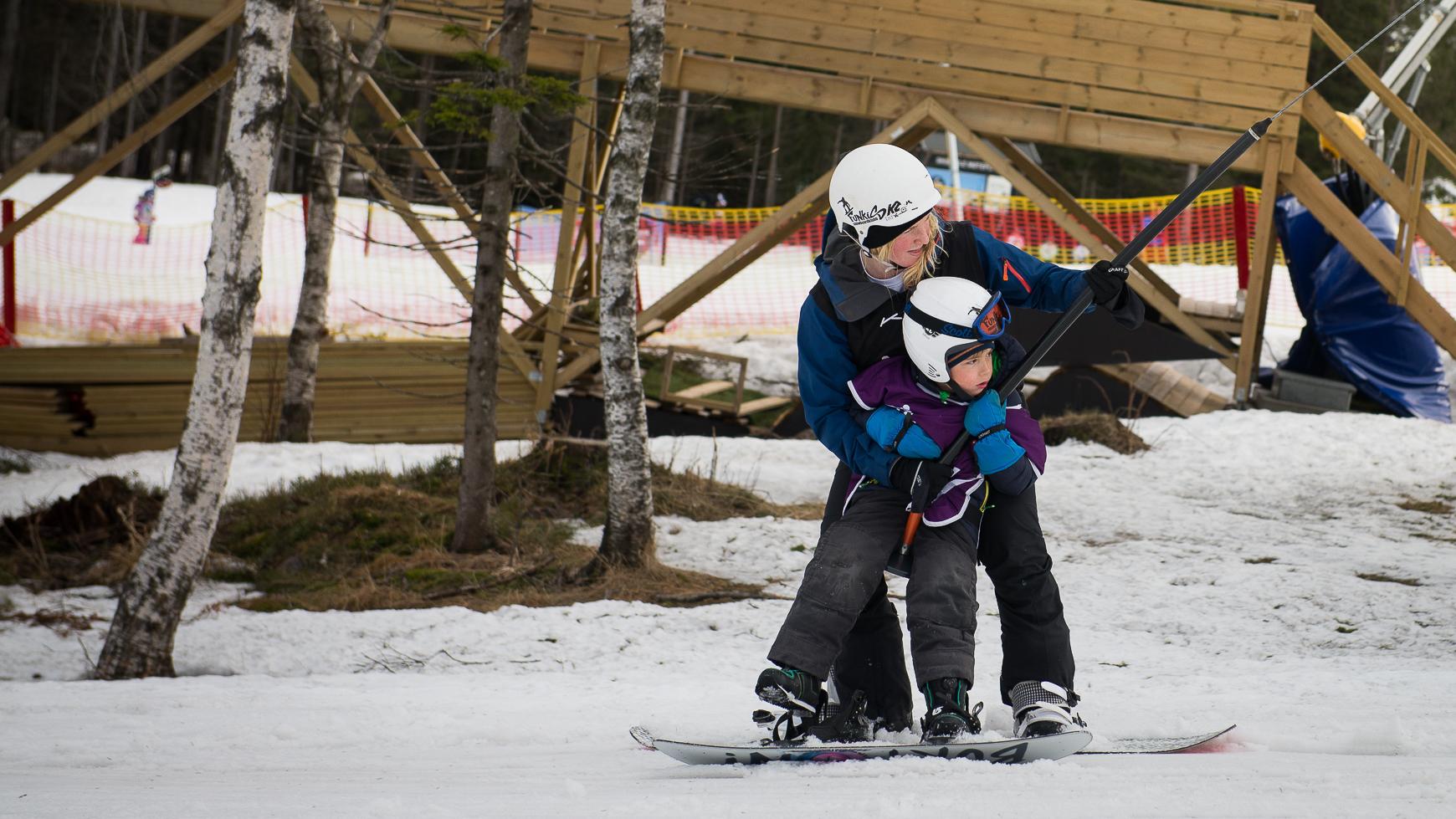 Instruktørkurs i snowboard