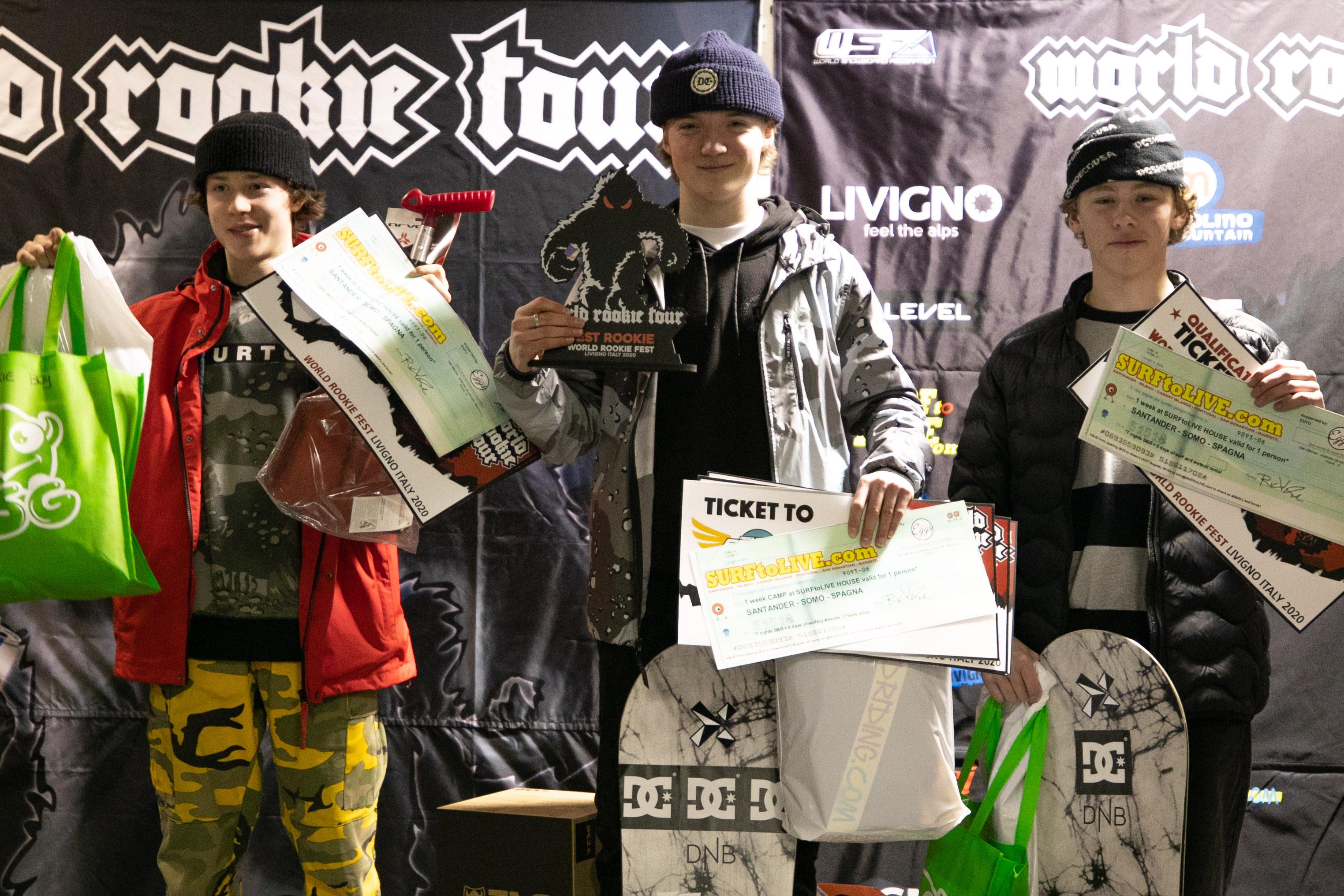 Kirkhus vant World Rookie Fest!