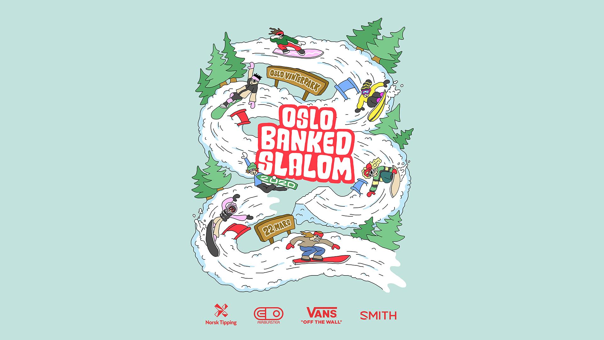 Oslo Banked Slalom