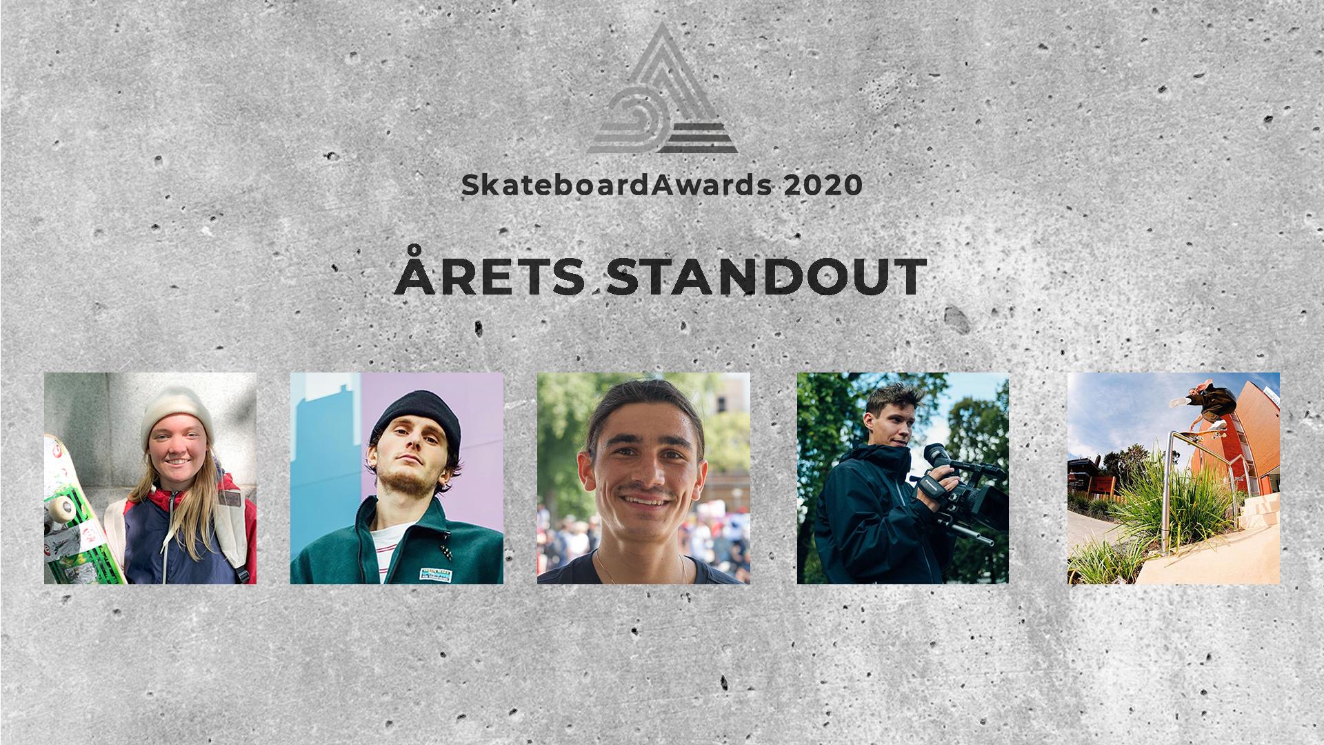 Stem på årets standout!