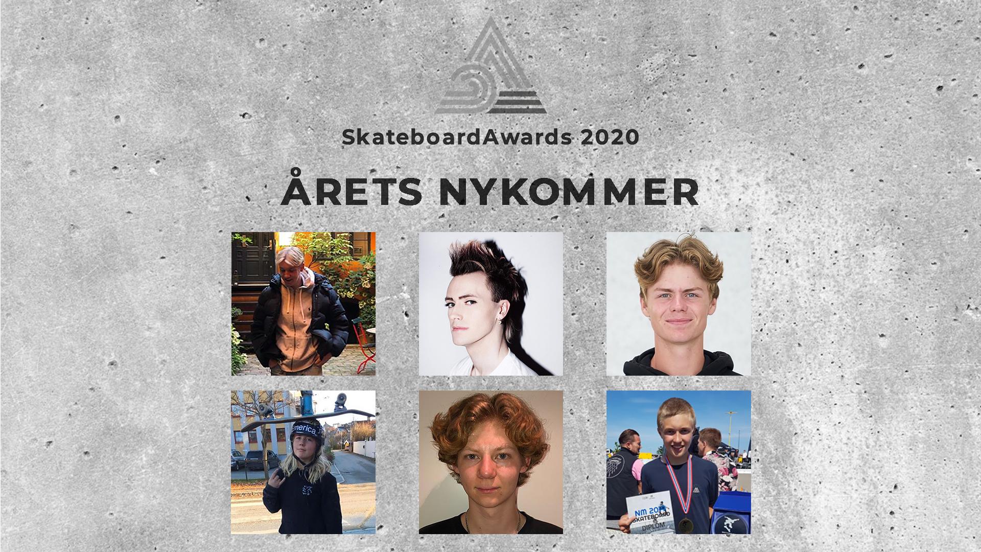 Disse er nominert til årets nykommer