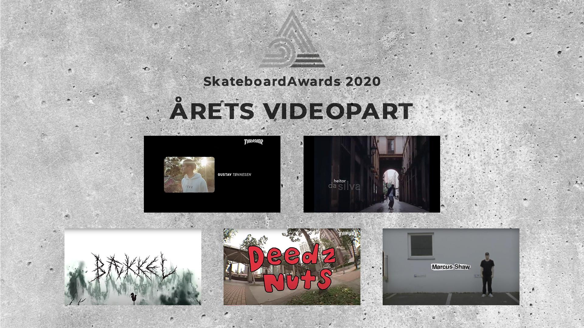Stem på årets videopart!
