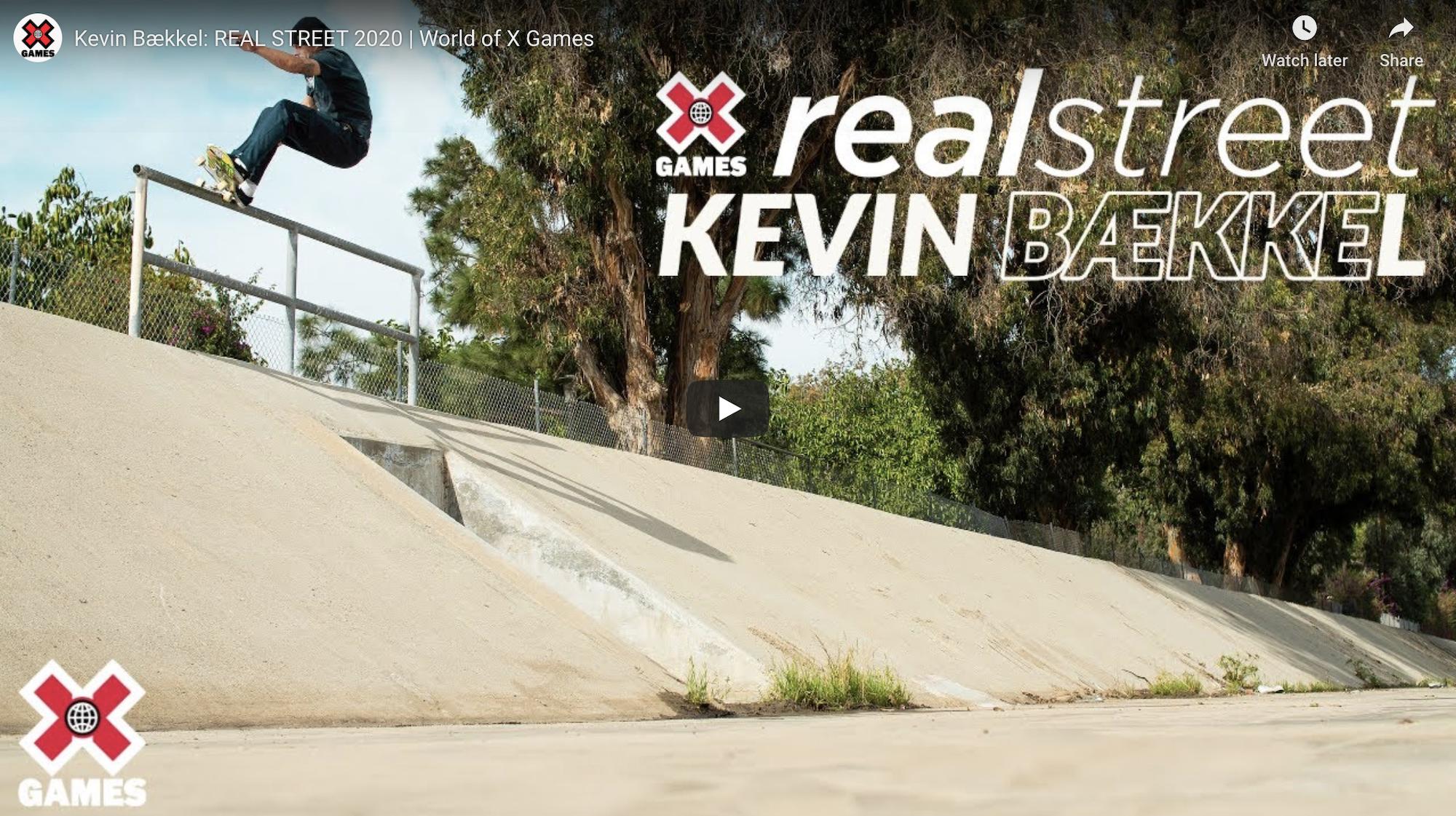 Kevin Bækkel: REAL STREET 2020