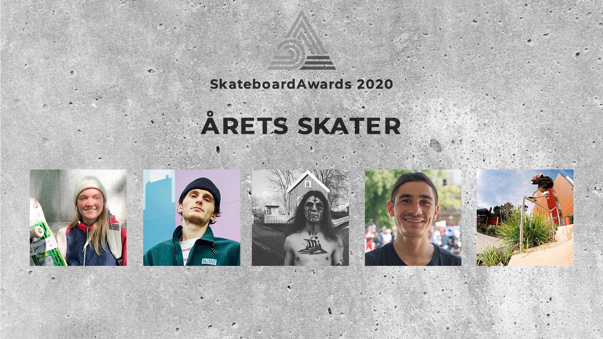 Stem på årets skater!
