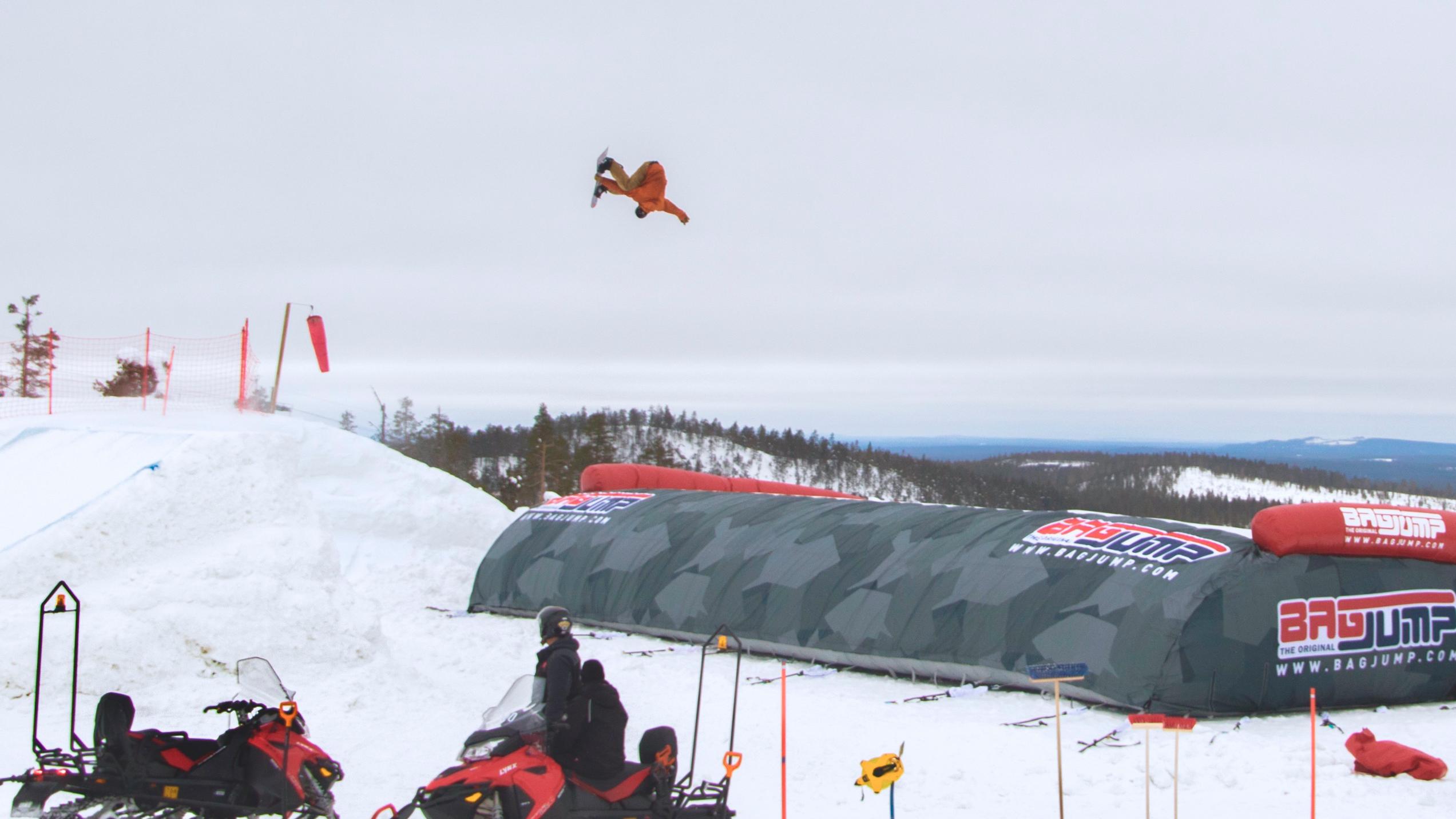 Gigantisk konkurransefordel for snowboard og freeski åpner i Trysil i starten av mars