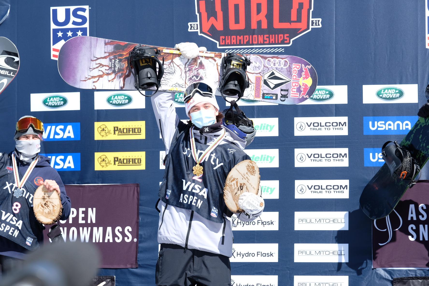 Kleveland ble verdensmester!