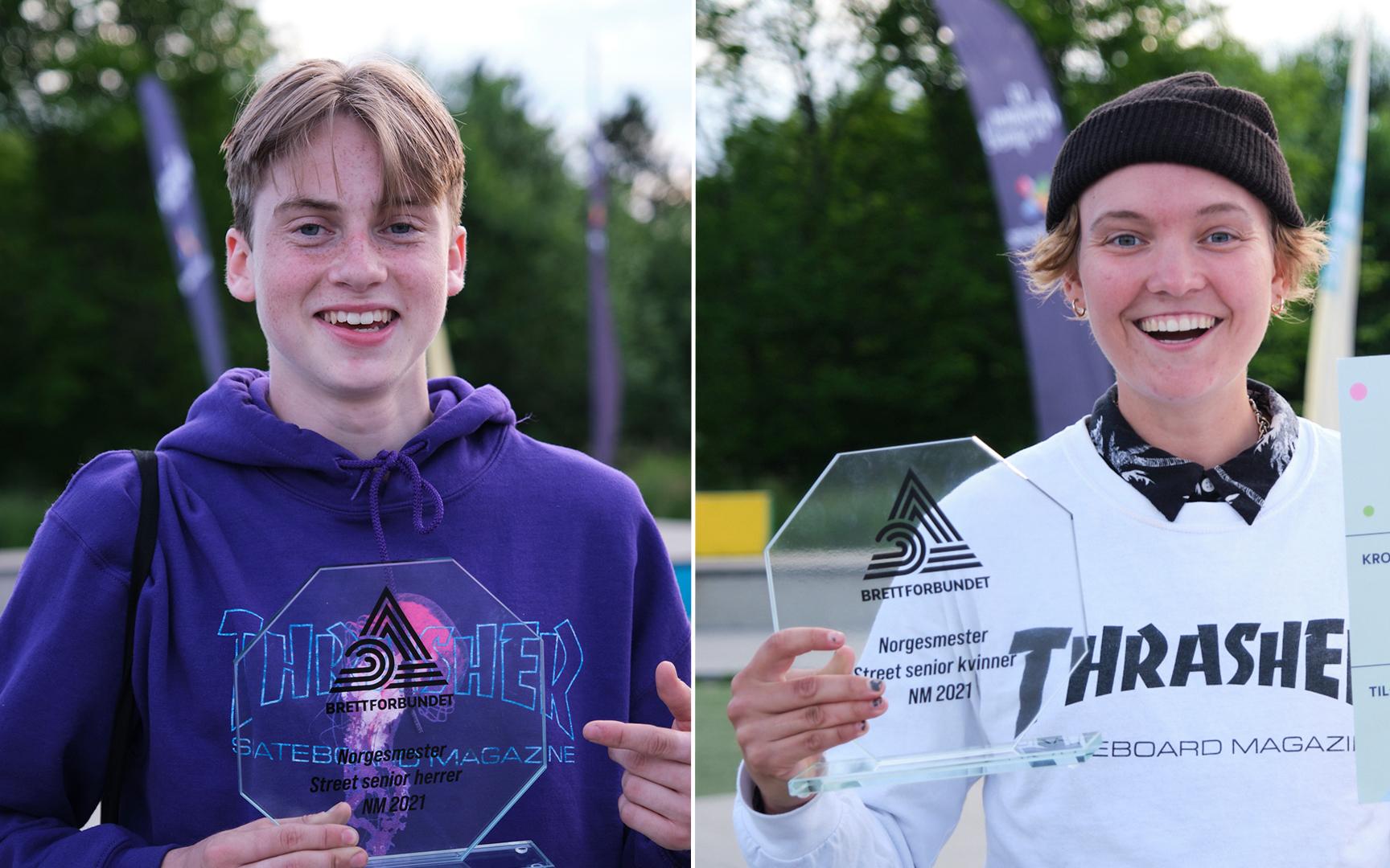 Heitmann og Pedersen er Norgesmestere!