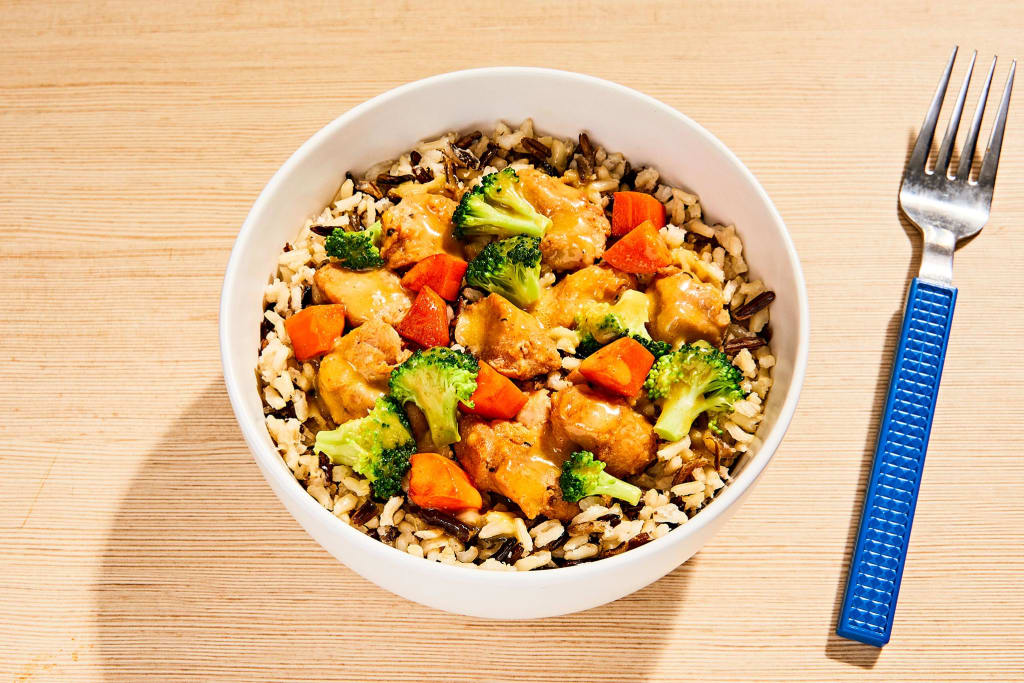 Honey Mustard Chicken Bowl