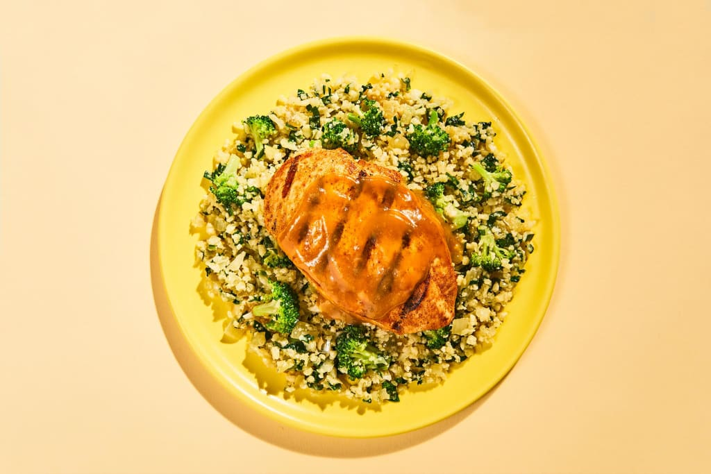 Oven-Roasted Chicken Pilaf