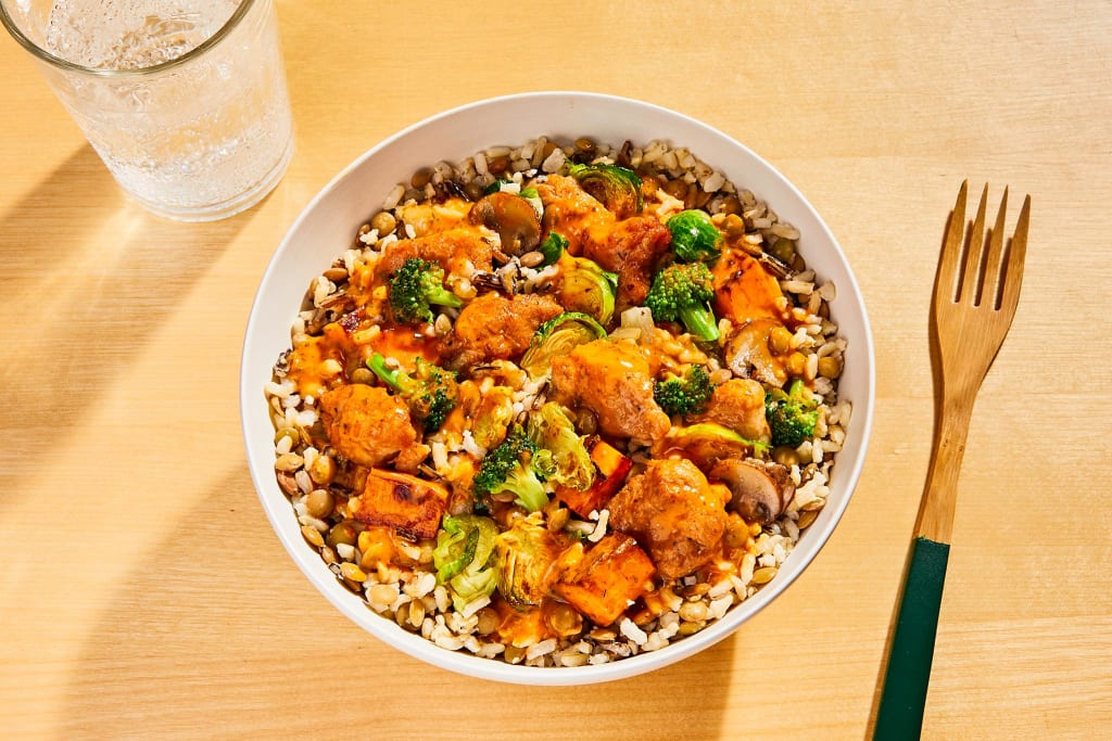 Red Pepper Chicken Bowl