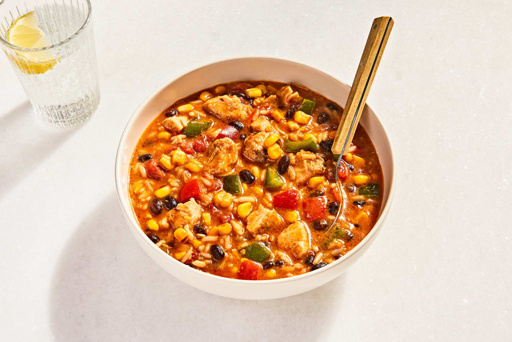 Hearty Chipotle-Chicken Stew