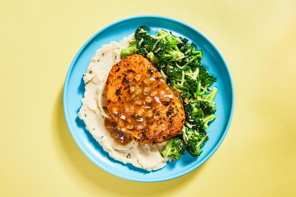 Herb-Roasted Pork Chop