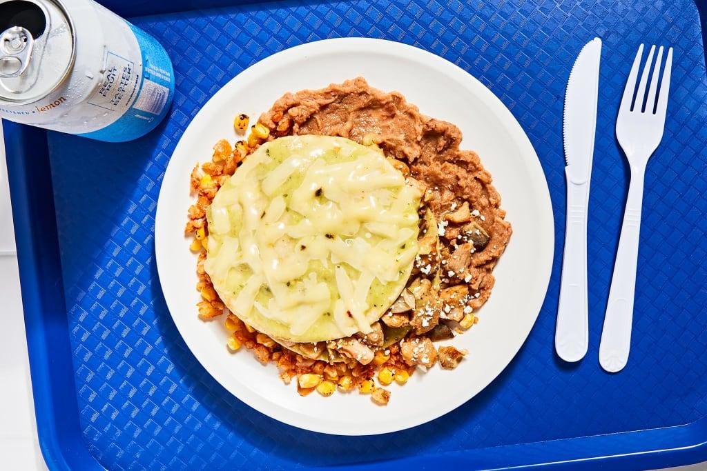 Salsa Verde Chicken Enchilada