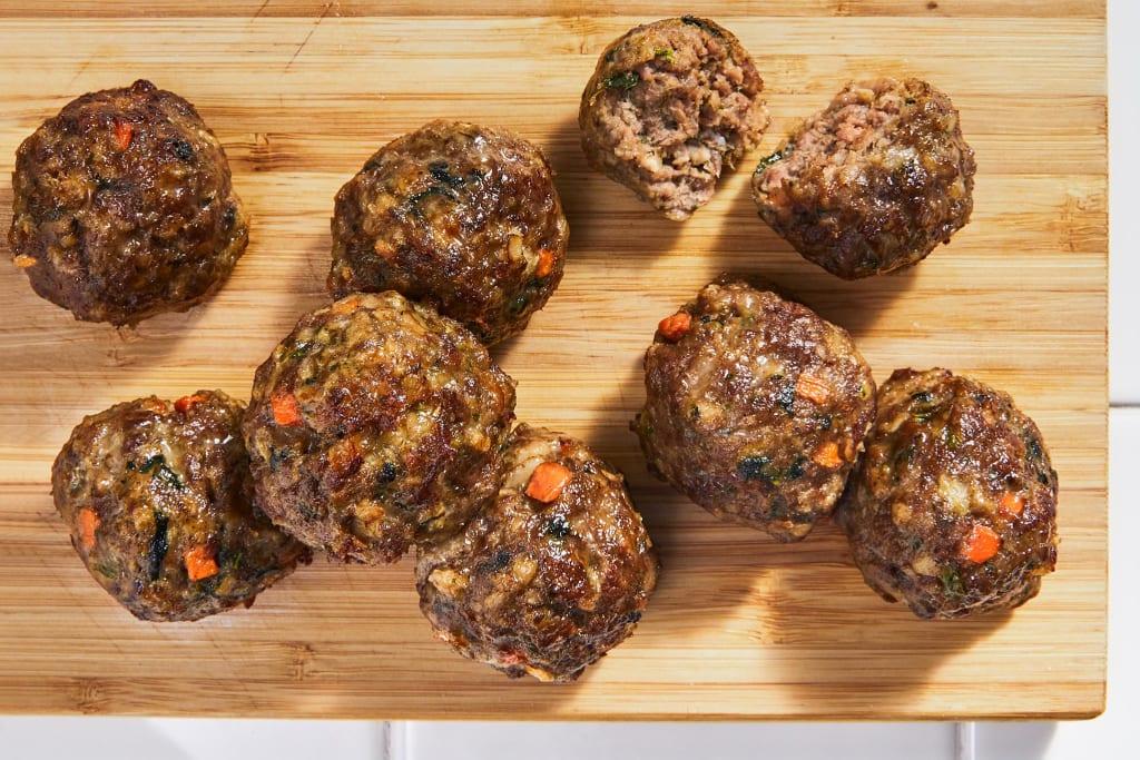 8 Baked Beef Meatballs (9.2 oz)