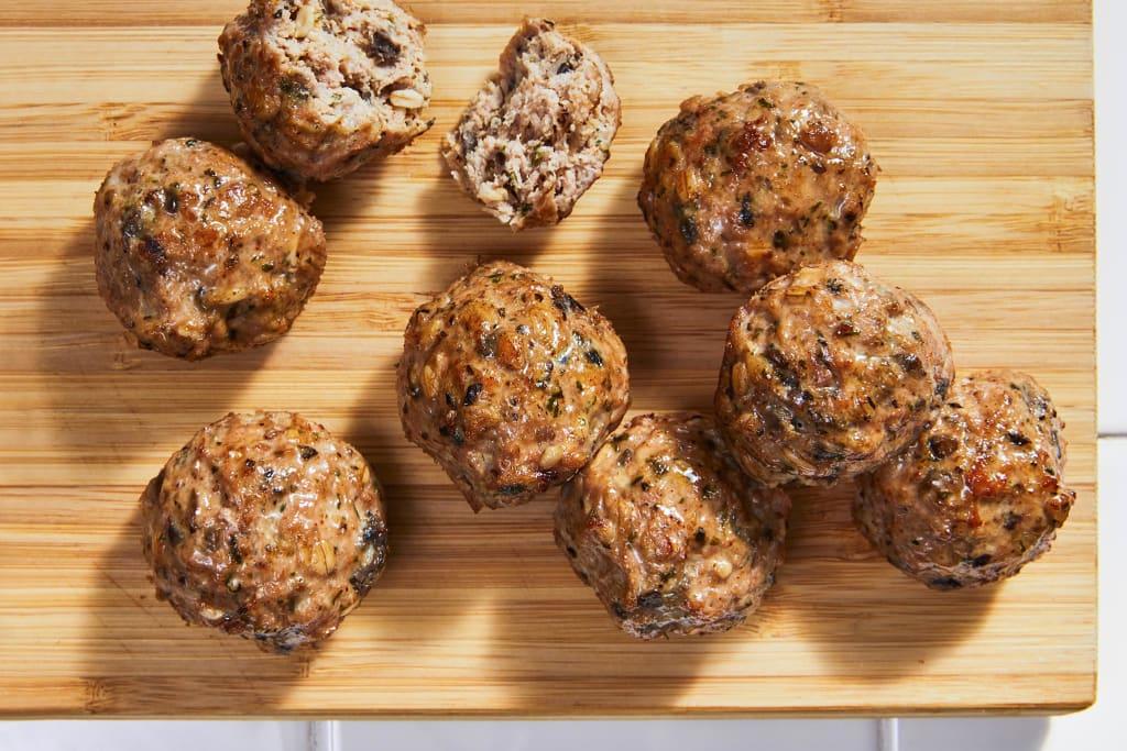 8 Baked Turkey Meatballs (9.98 oz)