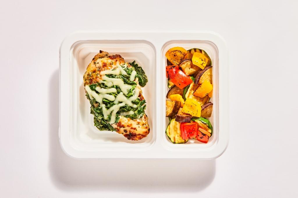 Oven-Baked Chicken Florentine