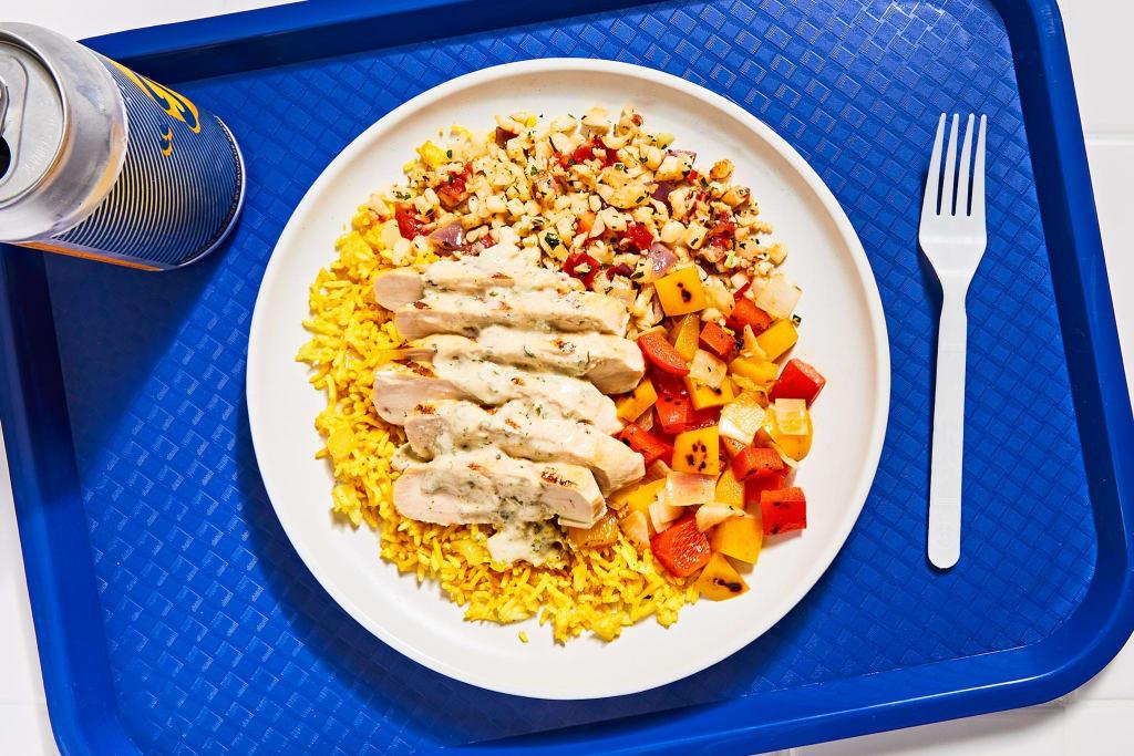 Greek Taverna Chicken Platter