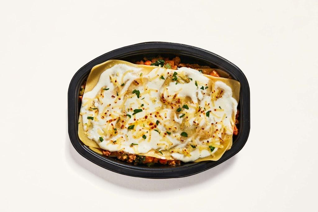 Autumn Bounty Pork & Turkey Lasagna