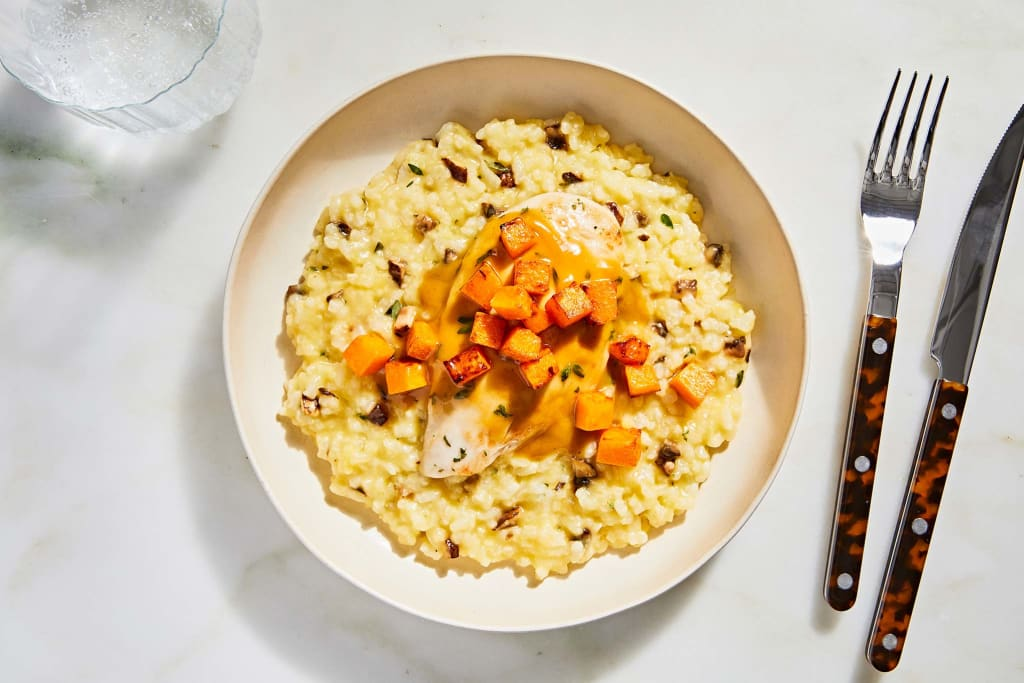 Harvest Time Chicken Risotto