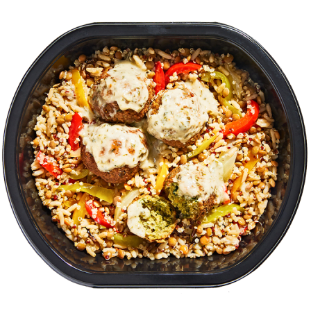 Middle Eastern Falafel Bowl