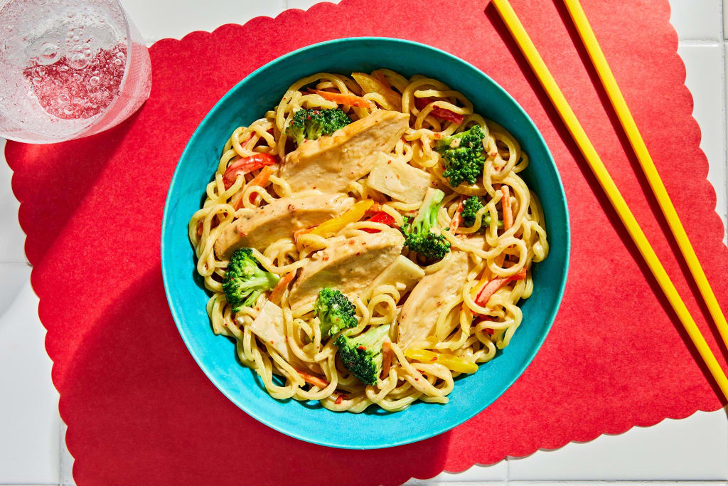 Asian-Style Chicken & Noodles