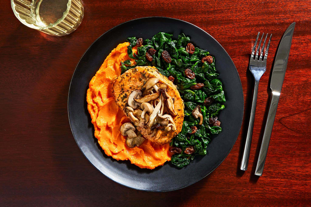 Southern-Inspired Pork Chop