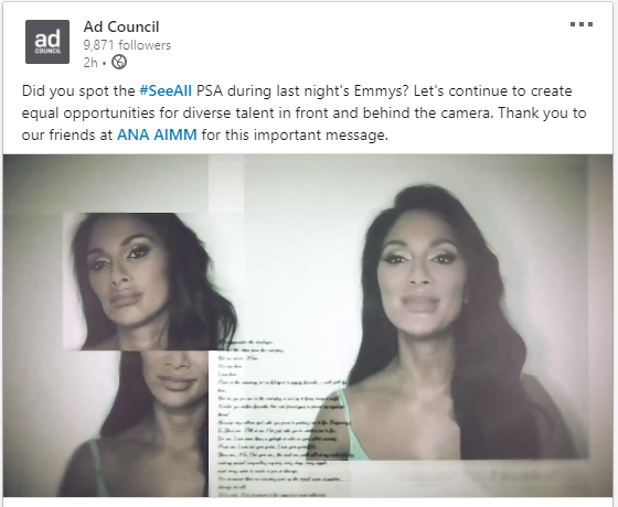 Ad Council Share