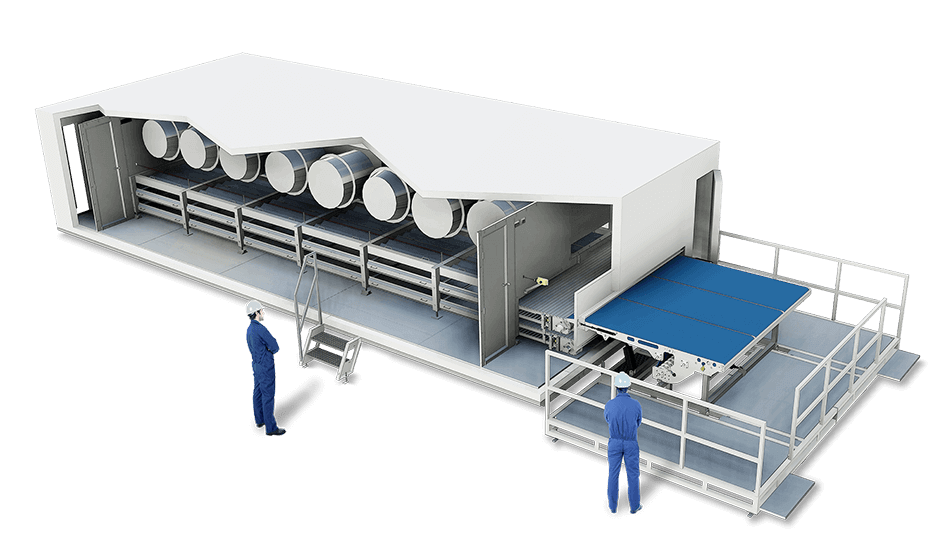 Super-Chiller increases durability, confers firmness, elasticty, extended shelf life and resistance for further processing, no need for icing when transporting.