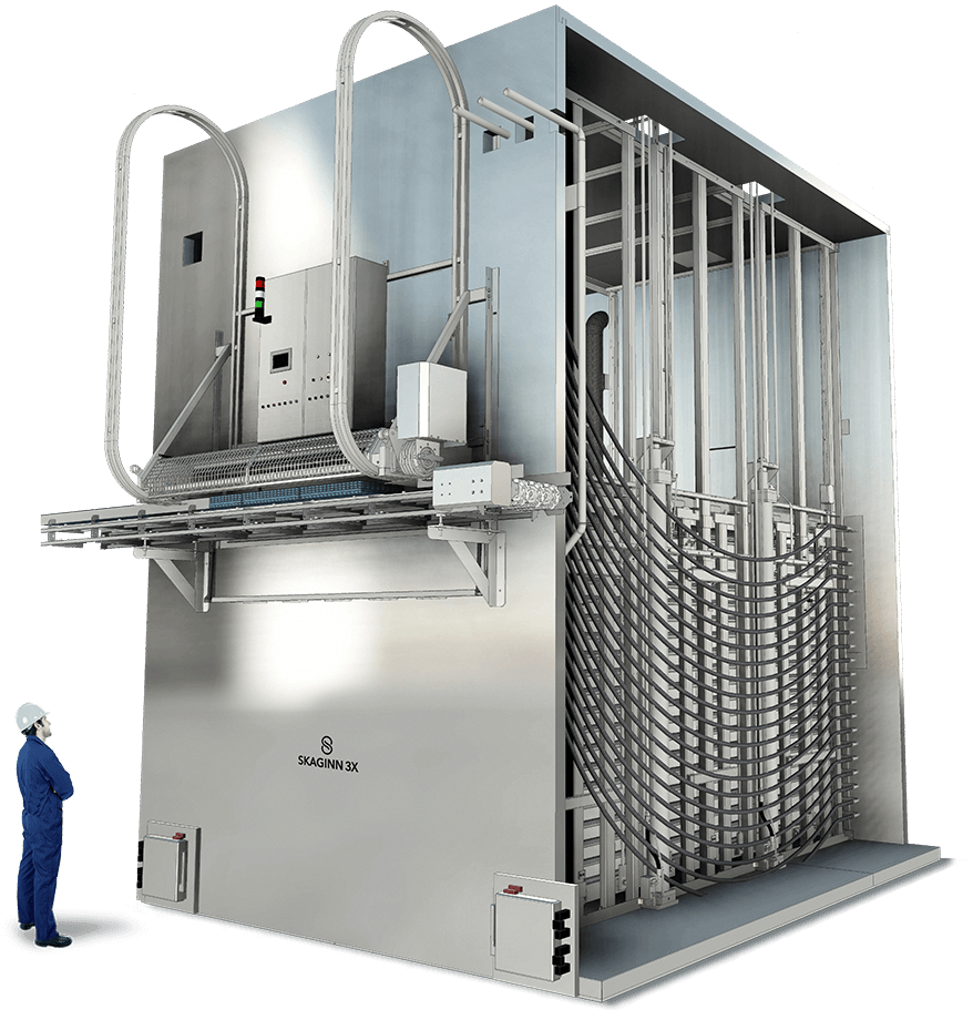 Skaginn 3X offers industry-leading equipment when it comes to non-pressure contact freezing. Customers looking to transition from the now discontinued Amerio plate freezers can contact our support team to discuss how Skaginn 3X technology could be the best option when renewing equipment.‍