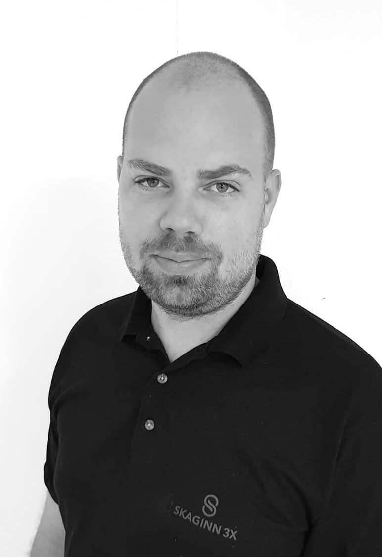 Axel F. Gislason, head of product development for Skaginn 3X