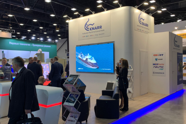 The best of Icelandic maritime technology was especially well featured last week at the 2019 NEVA exhibition in St. Petersburg as Skaginn 3X presented alongside the other founding members of Knarr Maritime Consortium.
