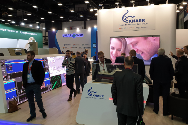 Our booth at  at the 2019 NEVA exhibition in St. Petersburg.