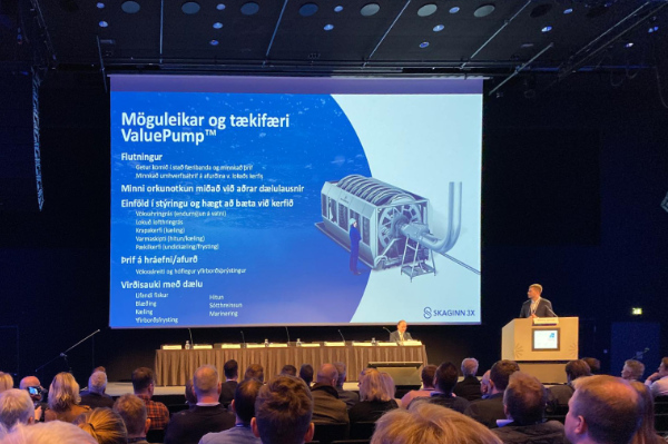 "Freysteinn Nonni presents the newly designed 16"" ValuePump™."