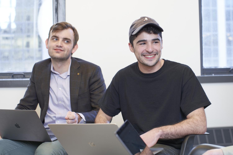 photo of Hologram teammate Ben and Fernando