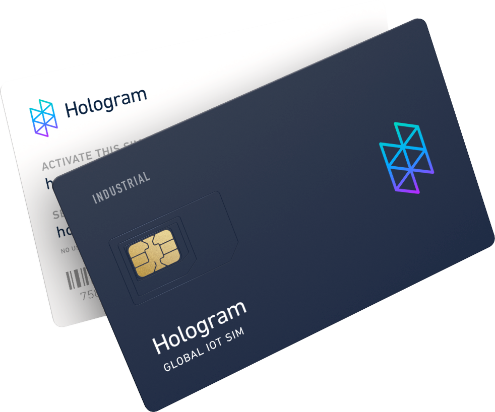 Hologram Industrial SIM card
