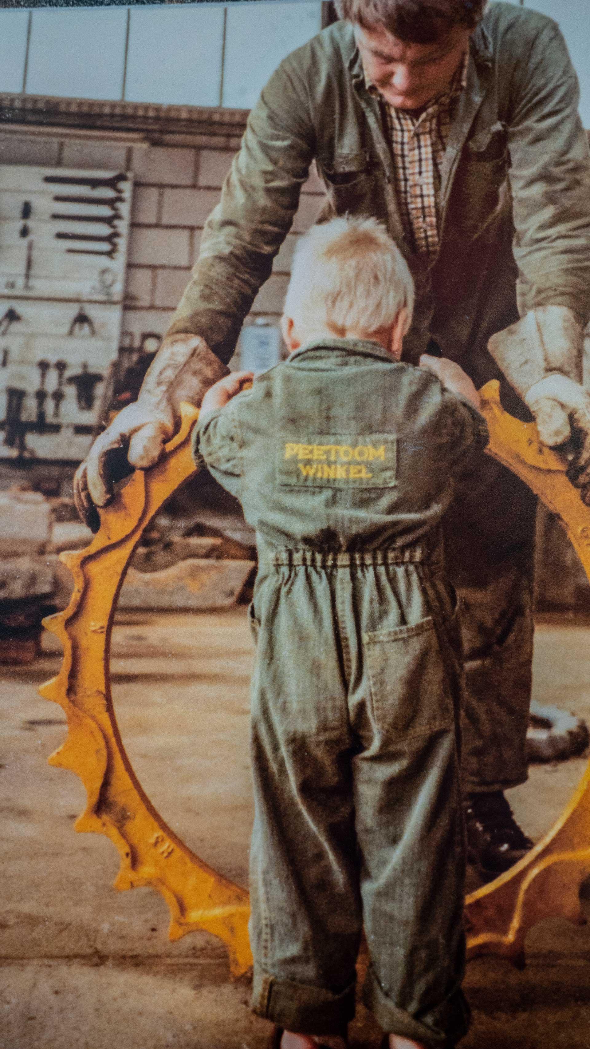 Simon Peetoom with his Father Piet-Wim Peetoom