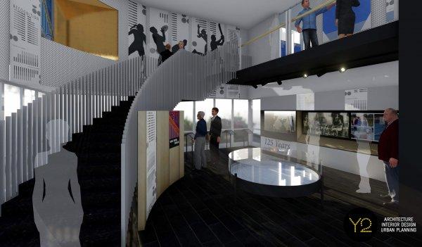 Pavilion Interior Render