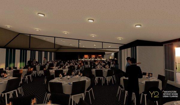 Pavilion Dining Render